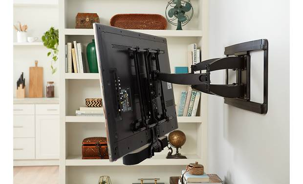 Sanus WSSBM1-B2 Sound Bar Mount for Sonos Beam Lets Sonos Beam and TV move as one unit (TV and wall mount not included)