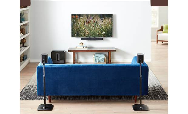 Sanus WSSBM1-B2 Sound Bar Mount for Sonos Beam Mount  your Sonos Beam under your TV (TV and Beam not included)