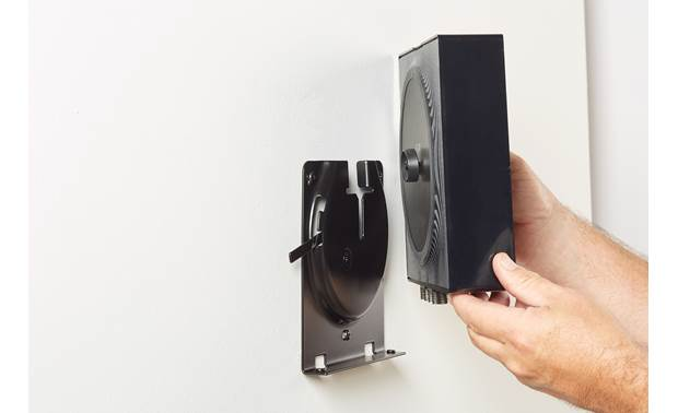 Sanus WSSCAM1-B2 Two-piece system provides easy mounting to the wall (Sonos Amp not included)