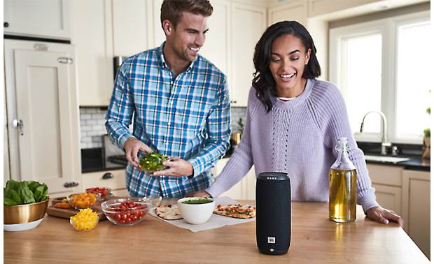 JBL LINK 20 Black - get recipes through Google Assistant