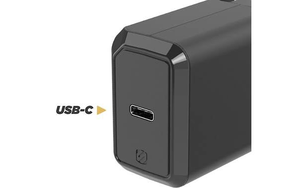 Scosche PowerVolt 3.0 USB-C Fast Charger USB-C port detail