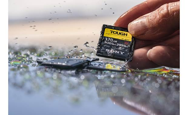 Sony SF-G Series Tough SDHC Memory Card Waterproof