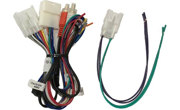 Crux SWRTY-61S Wiring Interface Front