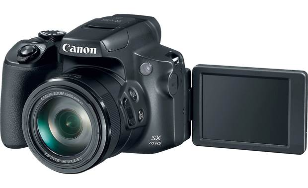 Canon PowerShot SX70 HS 3-inch tilting screen