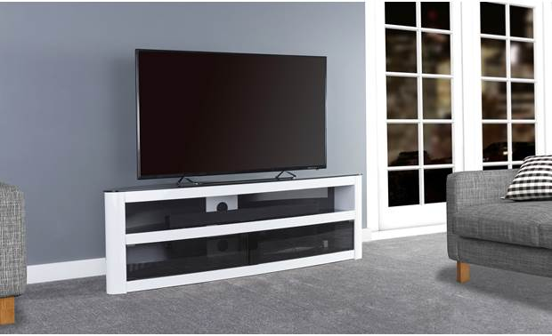 AVF Affinity Plus Burghley 1500 Gloss White (TV and components not included)