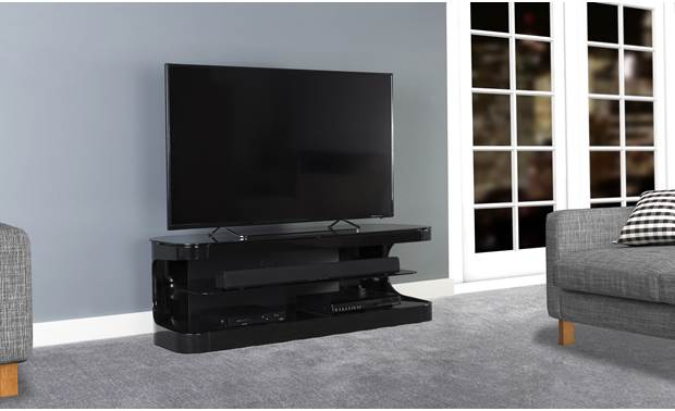 AVF Affinity Plus Kensington 1250 Black (TV and components not included)