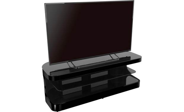 AVF Affinity Plus Kensington 1250 Black - left front (TV not included)