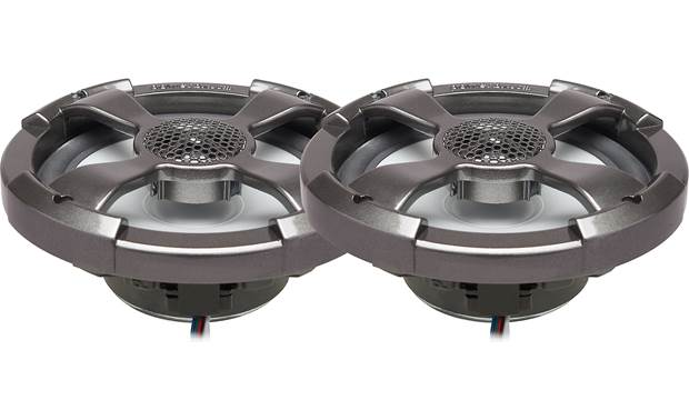 PowerBass XL-62SST marine speakers w/ LED lights