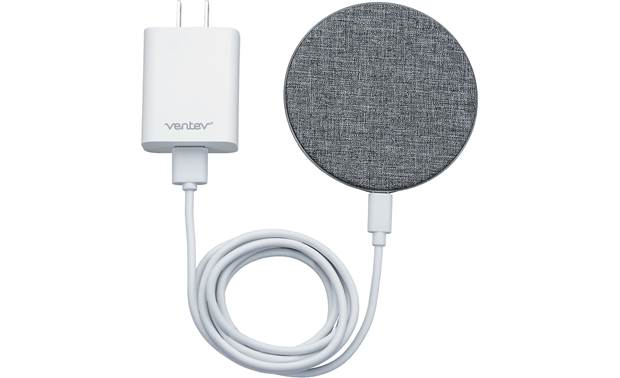 Ventev wireless chargepad+ This sharp charger replenishes your Qi-enabled device's battery wirelessly