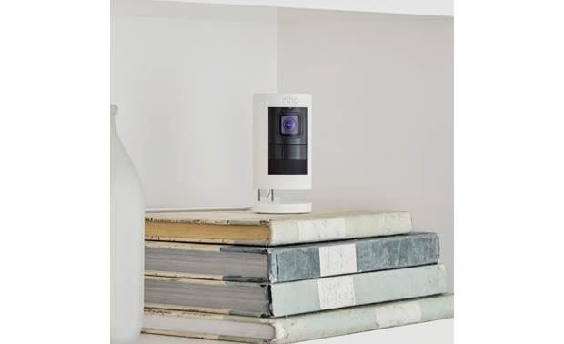 Ring Stick Up Cam Wired Can be free-standing or wall-mounted