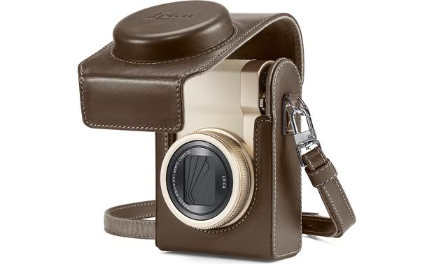 Leica C-Lux Leather Case Shown with Leica C-Lux camera (not included)