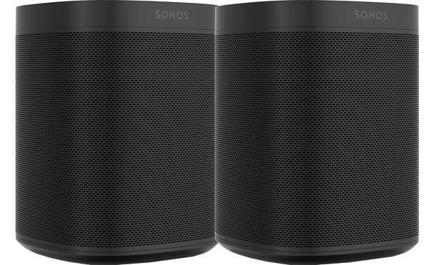 Sonos One (2-pack) Black