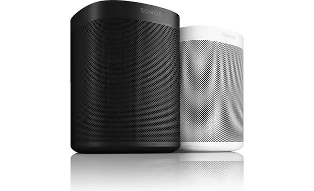Sonos One (2-pack) Black and white