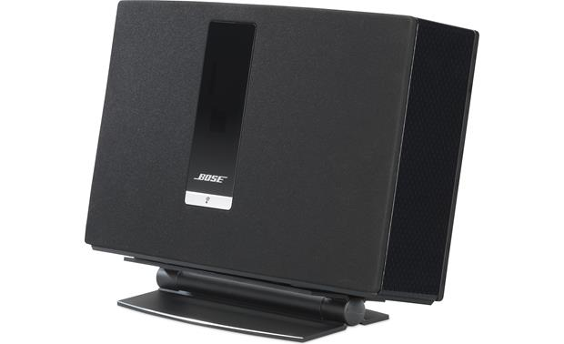 SoundXtra Desk Stand Black - right front (Bose® SoundTouch® 20 Series III wireless speaker not included)