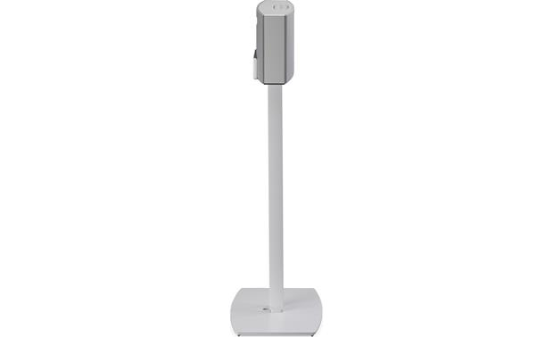SoundXtra Floor Stand White - side view (speaker not included)