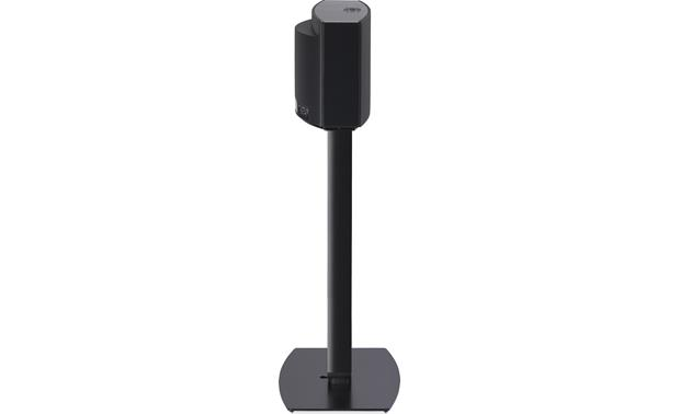 SoundXtra Floor Stand Black - side view (speaker not included)