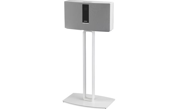 SoundXtra Floor Stand White - right front (speaker not included)