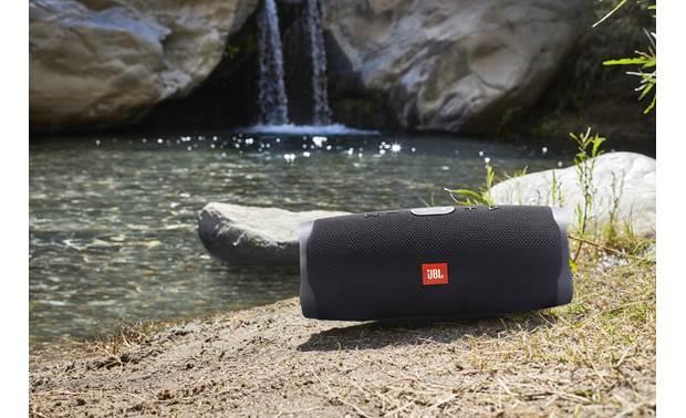 JBL Charge 4 Midnight Black - waterproof, dust-proof, and sand-proof