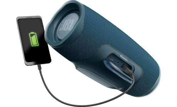 JBL Charge 4 Ocean Blue  - recharge your smartphone on the go