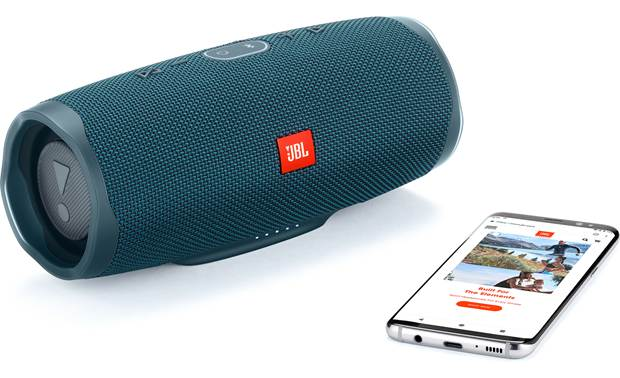 JBL Charge 4 Ocean Blue - easy control with JBL Connect app (smartphone not included)