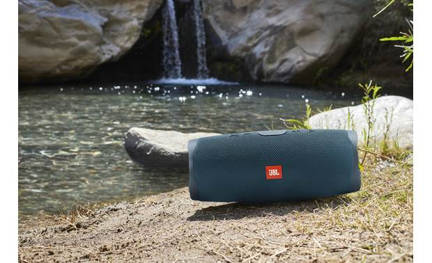 JBL Charge 4 Ocean Blue - waterproof, dust-proof, and sand-proof