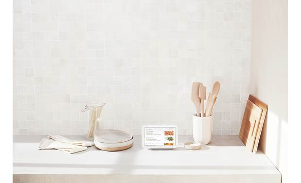 Google Nest Hub Displays recipes from the web