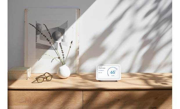 Google Nest Hub Control connected smart home devices