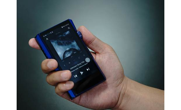 Astell&Kern A&ultima SP1000M Blue - simple to operate
