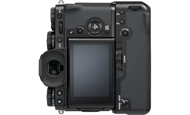 Fujifilm VG-XT3 Rear, shown with the X-T3 in vertical orientation (camera not included)