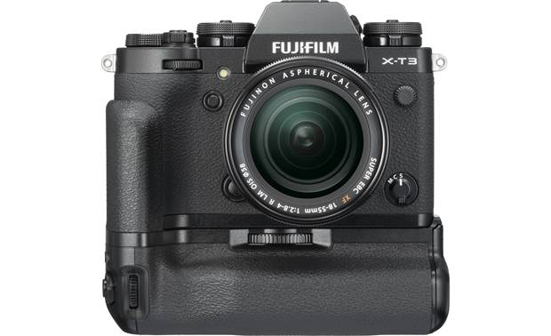 Fujifilm VG-XT3 Shown with the X-T3 in horizontal orientation (camera not included)