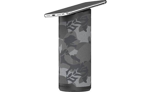 Scosche BoomBottle® MM Black Camo - magnetically holds smartphone (smartphone not included)