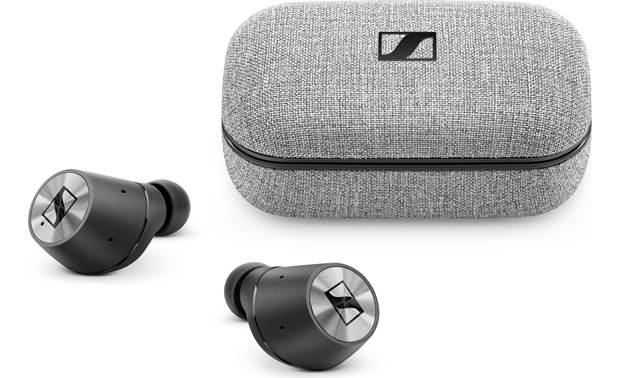 Sennheiser Momentum True Wireless Bluetooth headphones without a connecting cord between earbuds