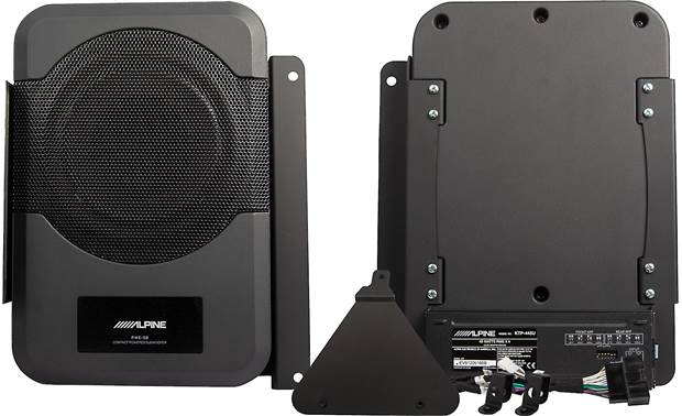 Alpine PSU-300MTG front and rear and harness