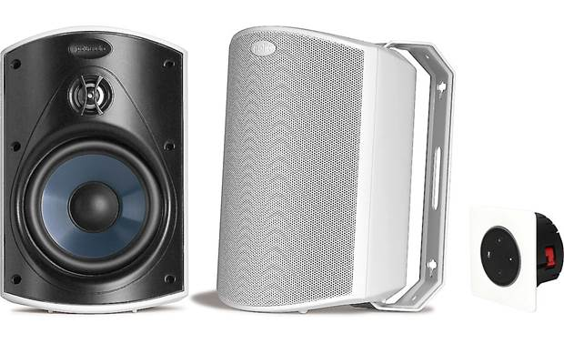 Vail Amp and Outdoor Speaker Package Front