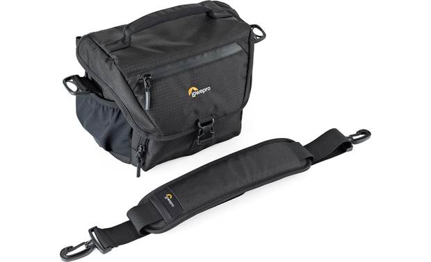 Lowepro Nova 160 AW II Shown with shoulder strap removed