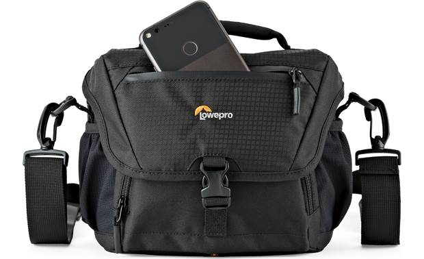 Lowepro Nova 160 AW II Top flap outer compartment for extra storage