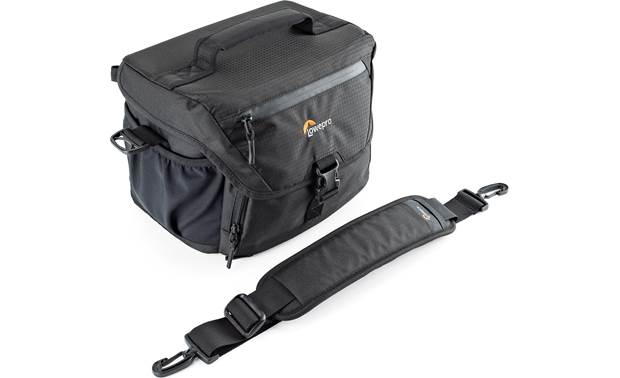 Lowepro Nova 180 AW II Shown with shoulder strap removed
