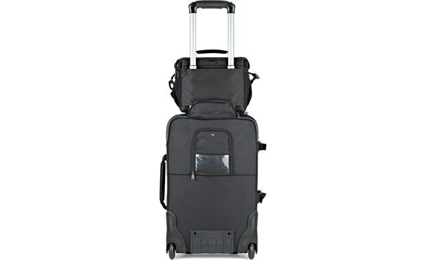 Lowepro Nova 180 AW II Attaches to luggage