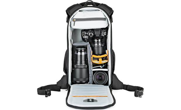 Lowepro Flipside 200 AW II Removable internal divider keeps your gear organized (contents not included)