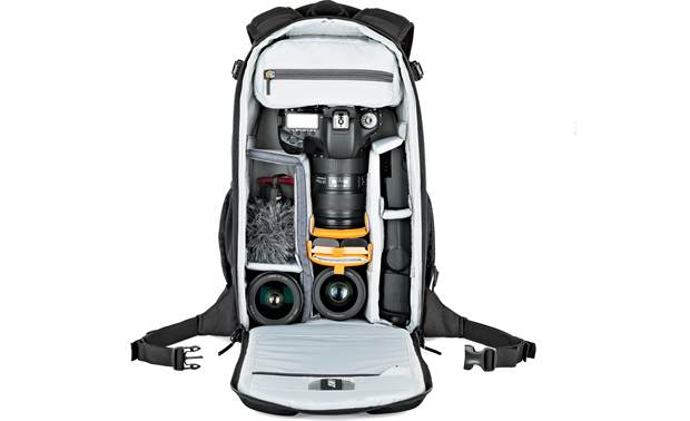 Lowepro Flipside 300 AW II Removable internal divider keeps your gear organized (contents not included)