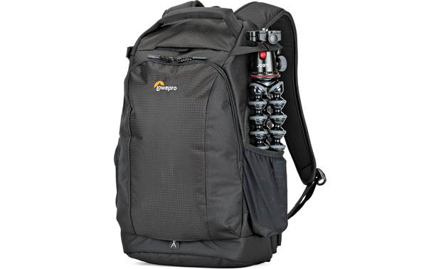 Lowepro Flipside 300 AW II Side pouches can accommodate small tripods, water bottles, and other small accessories