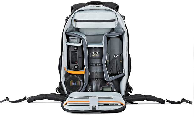 Lowepro Flipside 500 AW II Removable internal dividers keep your gear organized (contents not included)