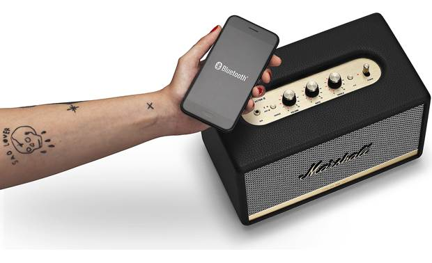 Marshall Acton II Bluetooth® Black - simple control with Marshall Bluetooth app (smartphone not included)