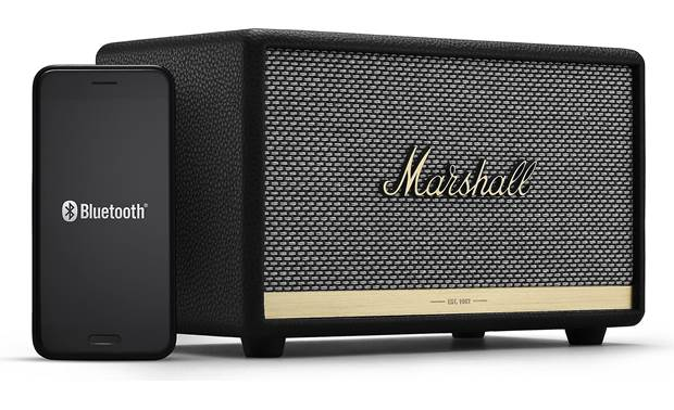 Marshall Acton II Bluetooth® Black - stream via Bluetooth (smartphone not included)