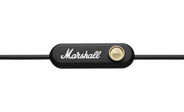 Marshall Minor II In-line remote with joystick-like control over music and movies