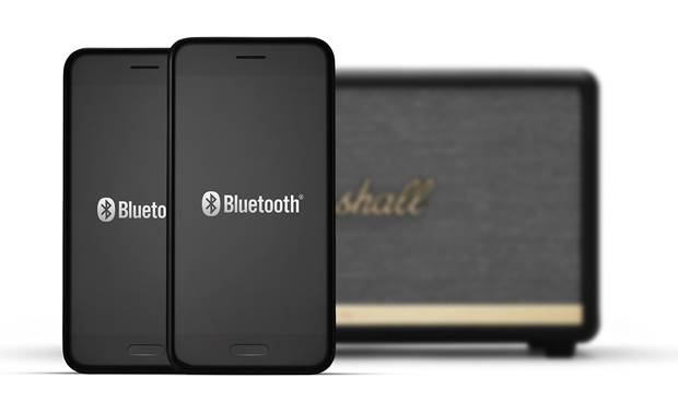 Marshall Stanmore II Bluetooth® Black - pair two devices simultaneously to the Stanmore II (smartphones not included)