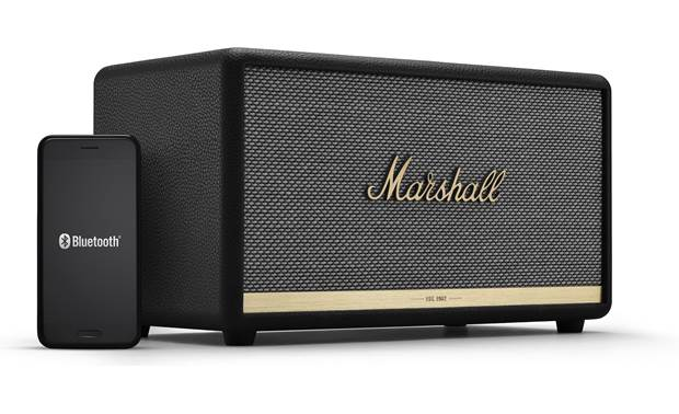 Marshall Stanmore II Bluetooth® Black - stream wirelessly via Bluetooth (smartphone not included)