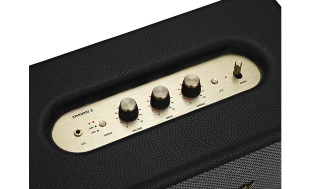Marshall Stanmore II Bluetooth® Black - top-mounted control buttons