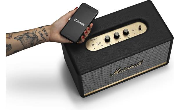 Marshall Stanmore II Bluetooth® Black - simple control with Marshall Bluetooth app (smartphone not included)