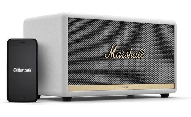 Marshall Stanmore II Bluetooth® White - stream wirelessly via Bluetooth (smartphone not included)